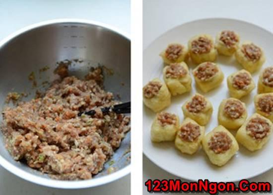 Cách làm món đậu phụ nhồi thịt kiểu mới cực ngon miệng hấp dẫn phần 4