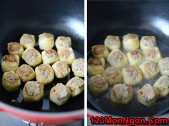 Cách làm món đậu phụ nhồi thịt kiểu mới cực ngon miệng hấp dẫn phần 5