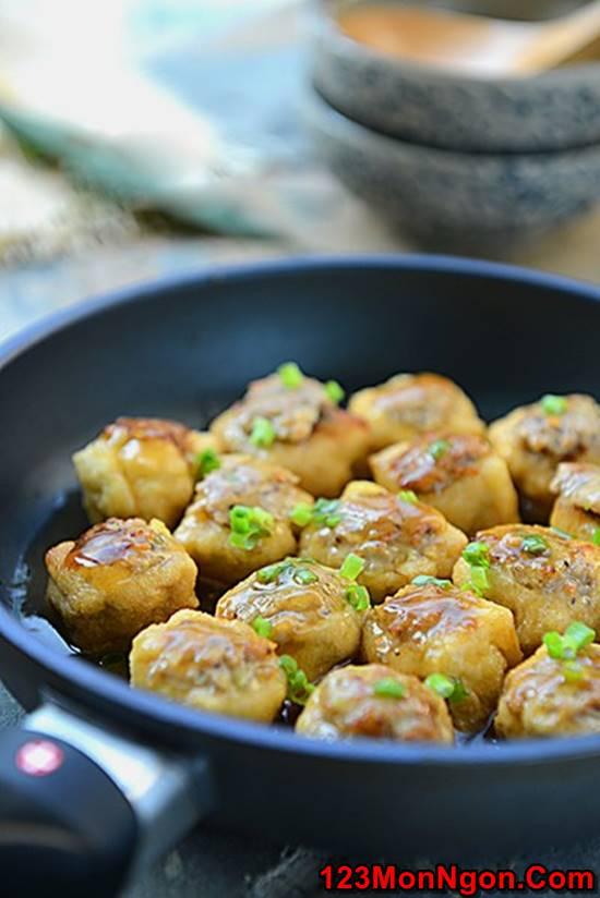 Cách làm món đậu phụ nhồi thịt kiểu mới cực ngon miệng hấp dẫn phần 6