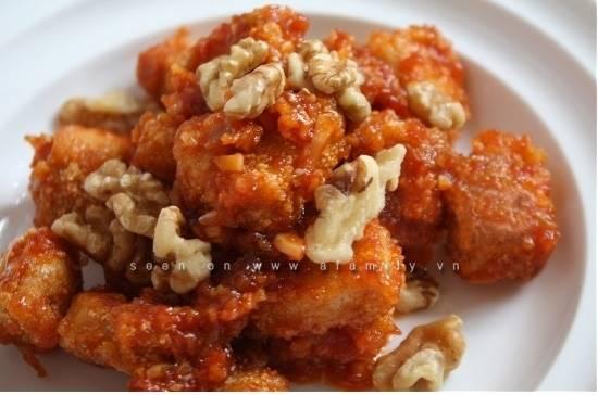 Cách làm món gà sốt chua ngọt đậm đà thơm ngon dễ ăn cho ngày Tết phần 1