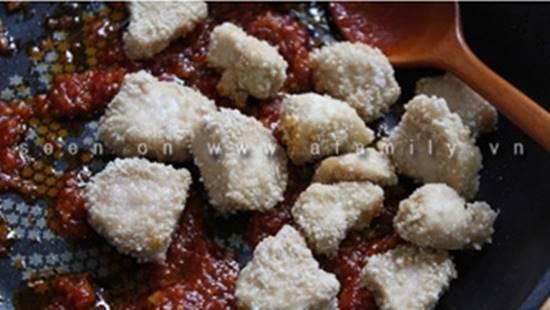 Cách làm món gà sốt chua ngọt đậm đà thơm ngon dễ ăn cho ngày Tết phần 7