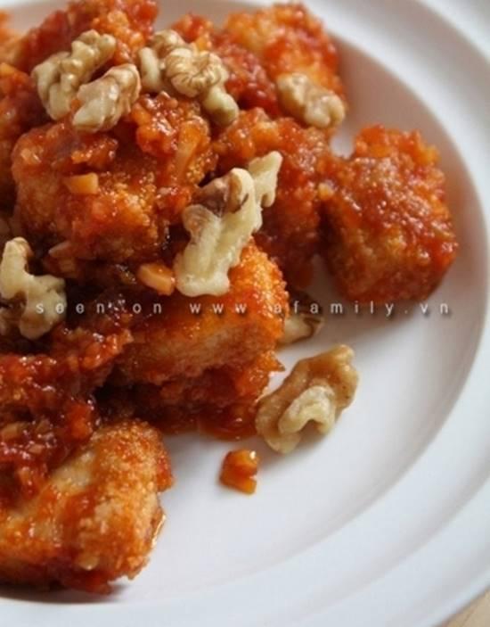 Cách làm món gà sốt chua ngọt đậm đà thơm ngon dễ ăn cho ngày Tết phần 9