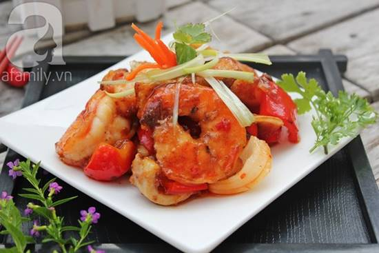 Cách làm món hải sản xào chua ngọt thơm ngon đơn giản cho bữa cơm tối phần 1