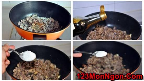 Cách làm món mề gà xào cay thơm nồng ngon miệng nhâm nhi ngày Tết phần 3