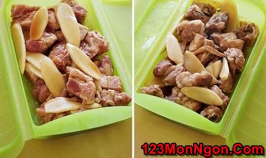 Cách làm món sườn non hấp gừng thơm nồng đậm đà ngon cơm phần 4