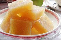 Cách làm món thạch táo thơm ngon ngọt mềm ngay tại nhà cho ngày Tết