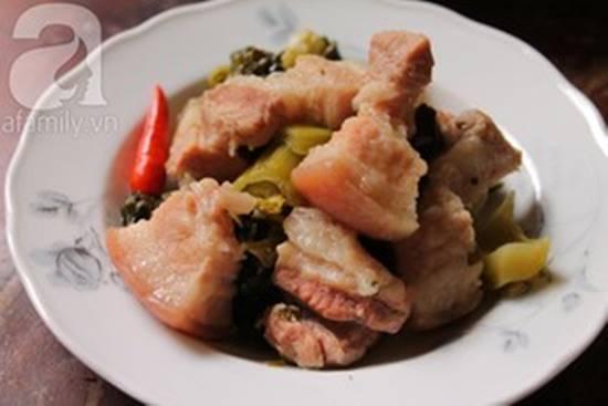 Cách làm món thịt ba chỉ kho dưa chua dễ ăn đậm đà ngon cơm 123monngon: Món ngon mỗi ngày - Mẹo vặt nội trợ - Địa điểm ăn uống