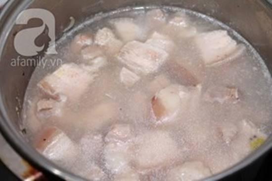 Cách làm món thịt ba chỉ kho dưa chua dễ ăn đậm đà ngon cơm phần 7
