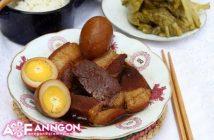Cách làm món thịt heo kho trứng quen thuộc hấp dẫn cực ngon cho ngày Tết