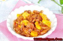 Cách làm món thịt heo xào dứa chua ngọt thơm ngon dễ ăn