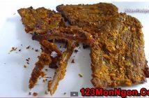 Cách làm thịt bò khô dai ngon cay nồng hấp dẫn nhâm nhi ngày Tết