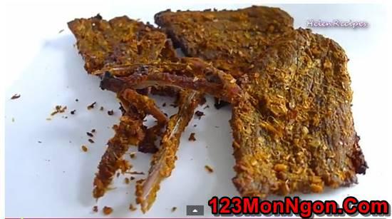 Cách làm thịt bò khô dai ngon cay nồng hấp dẫn nhâm nhi ngày Tết phần 4