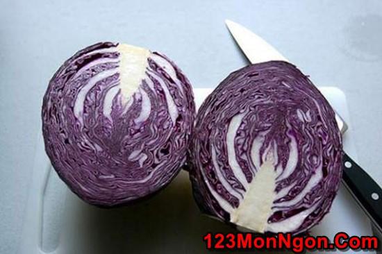 Cách muối bắp cải tím thơm ngon chua giòn thật hấp dẫn phần 3
