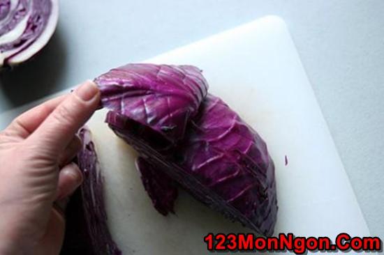 Cách muối bắp cải tím thơm ngon chua giòn thật hấp dẫn phần 5