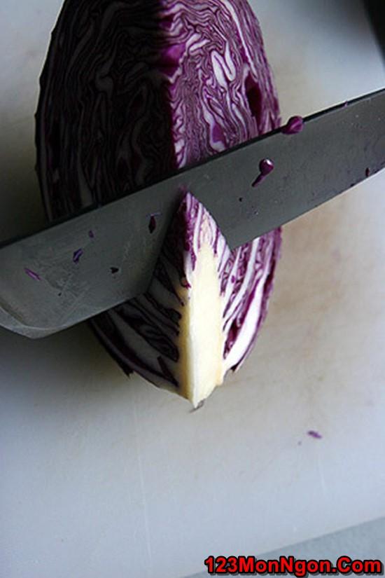 Cách muối bắp cải tím thơm ngon chua giòn thật hấp dẫn phần 6