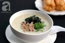Cách nấu cháo thịt đậu xanh nóng hổi thơm ngon cho bữa sáng đủ chất