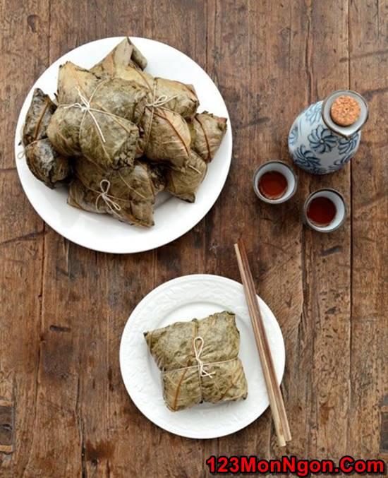 Cách nấu xôi gà hấp lá sen thơm dẻo hấp dẫn thật ngon đãi cả nhà ngày Tết phần 11