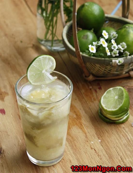 Cách pha nước chanh muối thơm ngon thanh mát giải nhiệt ngày hè phần 1