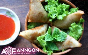 Cách làm bánh Samousa thơm ngon giòn rụm từ Ấn Độ
