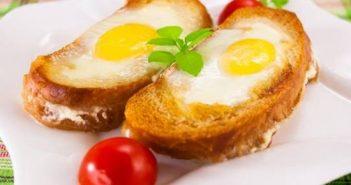 Cách làm món bánh mì trứng kiểu mới thơm ngon đổi vị cho bữa sáng đủ chất