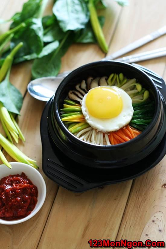 Cách làm món cơm trộn Hàn Quốc mới lạ thơm ngon bổ dưỡng đổi vị cuối tuần phần 1