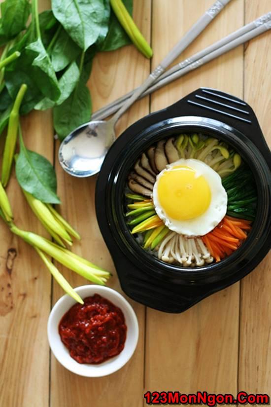 Cách làm món cơm trộn Hàn Quốc mới lạ thơm ngon bổ dưỡng đổi vị cuối tuần phần 11