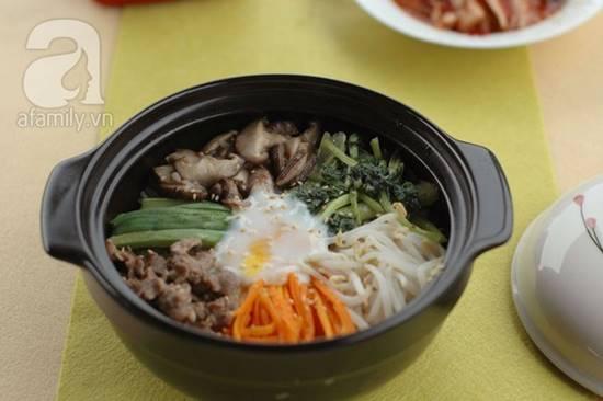 Cách làm món cơm trộn Hàn Quốc mới lạ thơm ngon đổi vị cho cả nhà phần 1