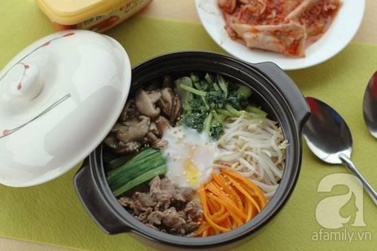 Cách làm món cơm trộn Hàn Quốc mới lạ thơm ngon đổi vị cho cả nhà phần 17