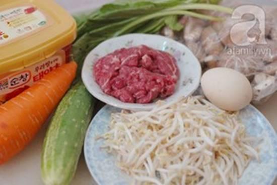 Cách làm món cơm trộn Hàn Quốc mới lạ thơm ngon đổi vị cho cả nhà phần 2