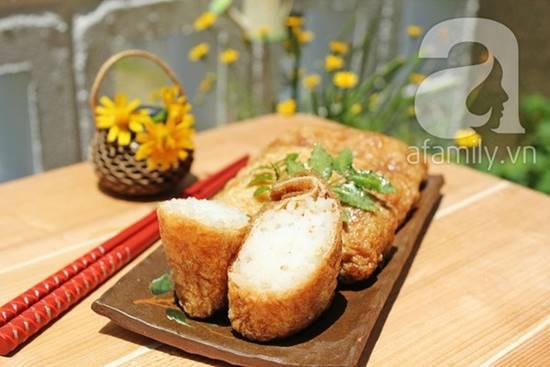Cách làm món đậu phụ cuộn cơm kiểu Nhật mới lạ thơm ngon phần 10
