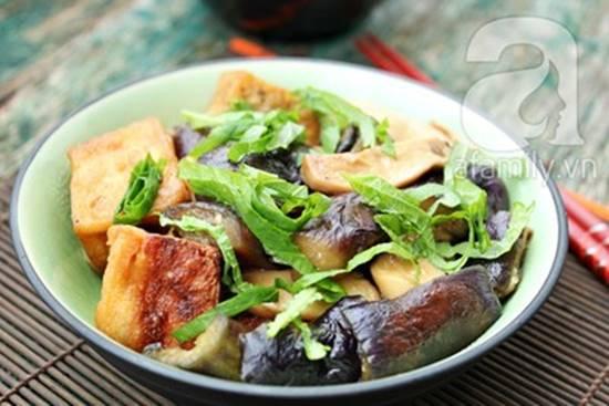 Cách làm món đậu phụ kho cà tím chay thơm ngon hấp dẫn phần 8