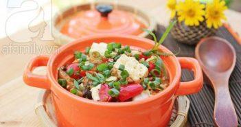 Cách làm món đậu phụ Tứ Xuyên lạ miệng ngon cơm