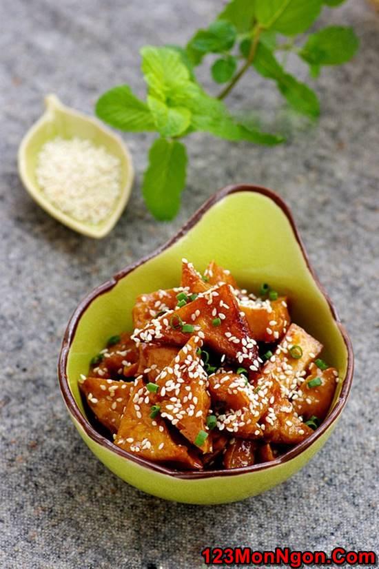 Cách làm món đậu rim ngũ vị thơm ngon hấp dẫn ăn là ghiền phần 10