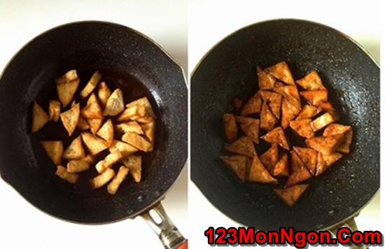 Cách làm món đậu rim ngũ vị thơm ngon hấp dẫn ăn là ghiền phần 7