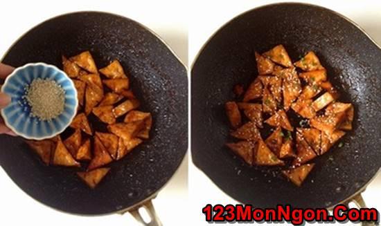 Cách làm món đậu rim ngũ vị thơm ngon hấp dẫn ăn là ghiền phần 8