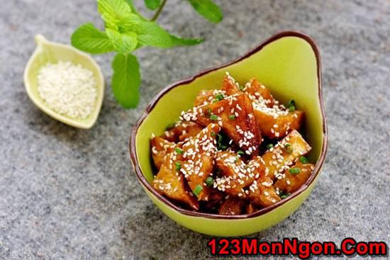 Cách làm món đậu rim ngũ vị thơm ngon hấp dẫn ăn là ghiền phần 9