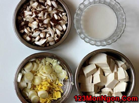 Cách làm món đậu sốt nấm đậm đà thanh tịnh thơm ngon cho ngày ăn chay phần 2