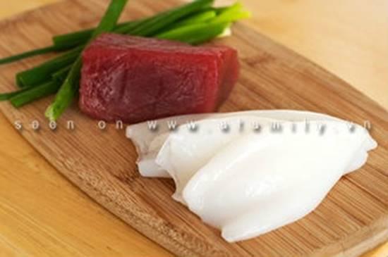 Cách làm món mực nhồi cá ngừ ngon lạ bổ dưỡng ăn là ghiền phần 1