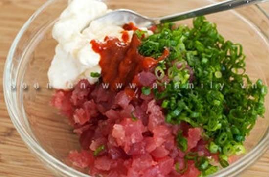Cách làm món mực nhồi cá ngừ ngon lạ bổ dưỡng ăn là ghiền phần 3