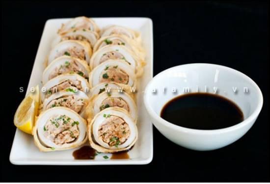 Cách làm món mực nhồi cá ngừ ngon lạ bổ dưỡng ăn là ghiền phần 7