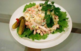 Cách làm món salad Nga vị dứa thơm ngon hấp dẫn ăn là ghiền