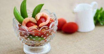 Cách làm món salad tôm cà chua thơm ngon dễ làm dễ ăn