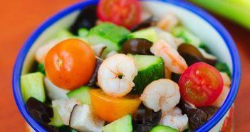 Cách làm món Salad tôm đẹp mắt thơm ngon bổ dưỡng