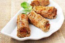 Cách làm món thịt heo cuộn khoai môn thơm ngon mới lạ không ngán