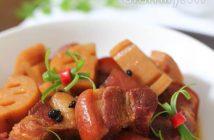 Cách làm món thịt kho củ sen mới lạ mà thơm ngon đậm đà ăn là ghiền