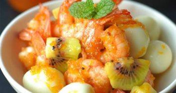 Cách làm món tôm rim trứng cút thơm ngon đậm đà đưa cơm