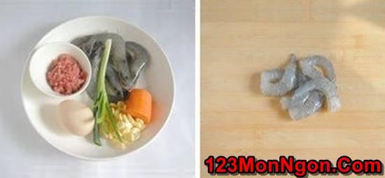 Cách làm món trứng cuộn tôm đẹp mắt ngon miệng ăn hoài không ngán phần 1