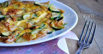 Cách làm món trứng tráng kim chi mới lạ thơm ngon ăn là ghiền