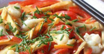 Cách làm mực xào chua cay dai giòn thơm ngon không ngán