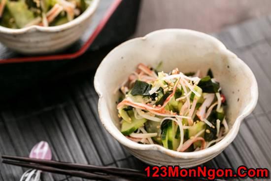 Cách làm salad dưa leo kiểu Nhật lạ miệng mà thơm ngon dễ ăn phần 1